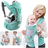 360 Baby Carrier Newborn to Toddler 4 in 1 Soft Sling All Carry with Hip Seat 360 Positions Award-Winning Ergonomic Newborn Seats