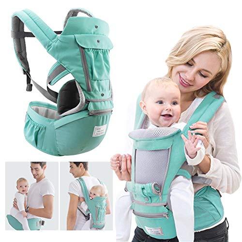 Marsupio, PER ergonomico Marsupio per il seggiolino sicuro e confortevole Marsupio multiposto per marsupio per il bambino neonato 0-3 anni