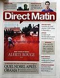 DIRECT MATIN [No 748] du 08/10/2010 - ARCHITECTURE / 40 PROJETS QUI VONT CHANGER LE VISAGE DE PARIS - FRANCE -ROUMANIE / LES BLEUS ATTENDUS - BOUCLIER FISCAL / 79 DEPUTES UMP CONTRE LE DISPOSITIF - LE PAPE RECOIT SARKOZY - LES RETRAITES - QUEL NOBEL APRES OBAMA - SPELEOLOGUE DISPARU / LES RECHERCHES SE POURSUIVENT - VOLE INTEGRAL / L'INTERDICTION VALIDEE - BOUES TOXIQUES EN HONGRIE