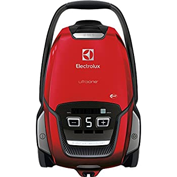 Electrolux euo9animal aspirador con bolsa UltraOne, bolsa s-bag XL de 5 l, sistema de aspiración AeroPro, Allergy Plus Filter, Chilli Red