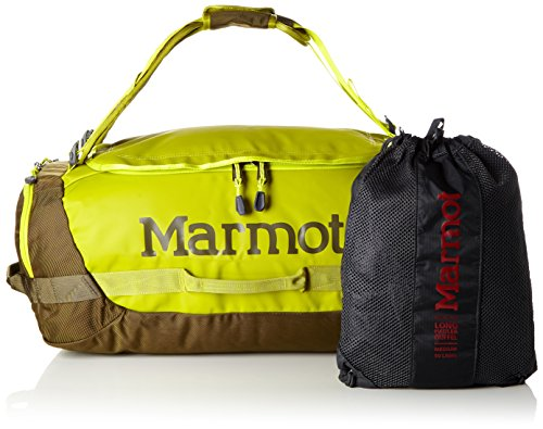 Marmot Unisex Long Hauler Duffle Bag Reisetasche Dark Citron/Dark Olive