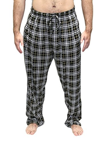 Hanes Men's ComfortSoft Cotton Printed Lounge Pants - Hanes Flanell