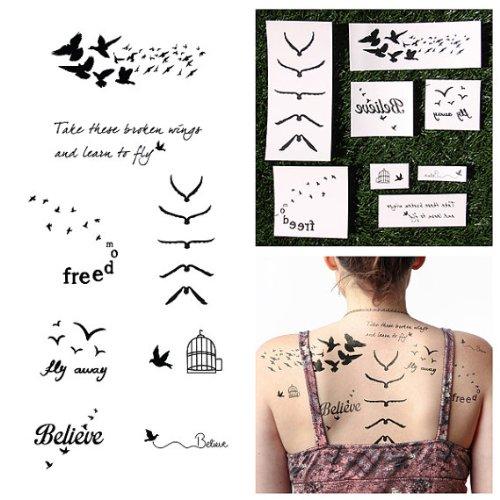 tat-tify-auserw-x160-hlte-uccelli-tema-tisierte-tempor-x160-re-tatuaggi-fowl-play-set-con-16