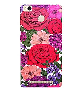 EPICCASE Roses Mobile Back Case Cover For Xiaomi Redmi 3S (Designer Case)