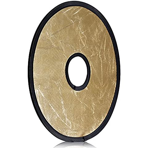 Neewer–Reflector circular plegable montura de luz portátil de 12
