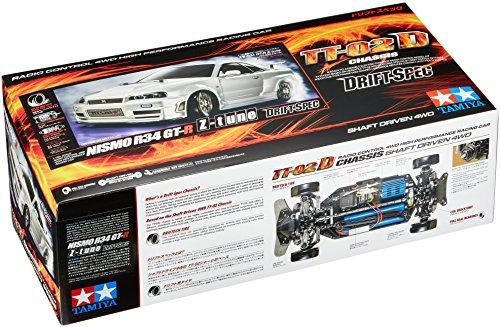 TAMIYA 300058605 - 1:10 RC Nismo R34 GT-R Z-Tune (TT-02D)
