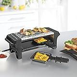 GOURMETMaxx mini Raclette Grill für 2 Personen 350W