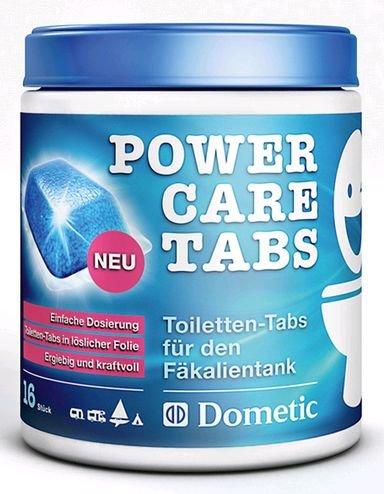 Preisvergleich Produktbild Dometic Power Care Tabs - Toiletten-Tabs für den Fäkalientank, 16+4