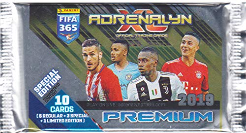 Panini FIFA 365 - 2019 Adrenalyn XL - Premium Special Edition Trading Cards - 1 Booster