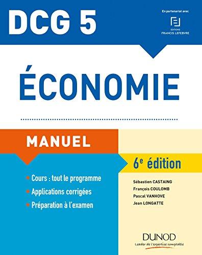 DCG 5 - Économie - 6e éd. - Manuel