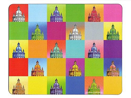 """Preisvergleich Produktbild Mauspad """"Dresden-Mosaik"""" Frauenkirche"""