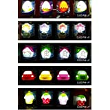 Jiada Set Of 6 Cute Little Night Lamps For Kids Room | Return Gifts For Kids Birthday | Assorted Designs
