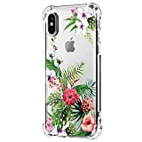 Neivas Coque iPhone XS/XS Max/XR 2018,Clair Souple TPU Gel Silicone Crystal...