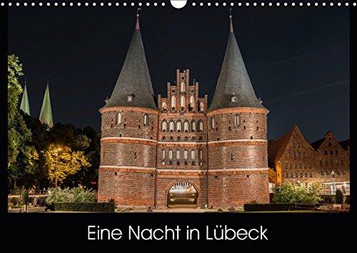 Eine Nacht in Lübeck (Wandkalender 2018 DIN A3 quer): Fotodokumentation der Hansestadt Lübeck von Sonnenuntergang bis Sonnenaufgang (Monatskalender, 14 Seiten ) por K. A. Stgrafix
