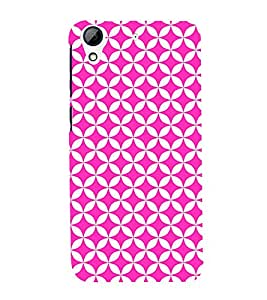 Purple Self Design 3D Hard Polycarbonate Designer Back Case Cover for HTC Desire 728G Dual Sim::HTC Desire 728G::HTC Desire 728