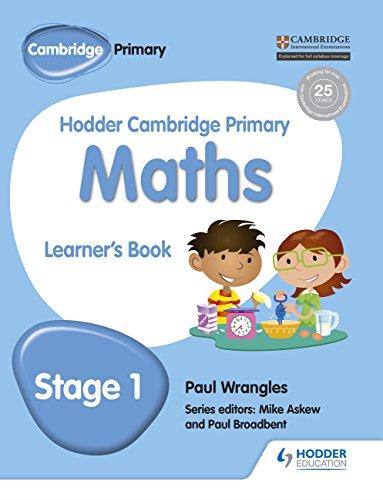 Hodder Cambridge Primary Maths Learner's Book 1 (Hodder Cambridge Primary Science)