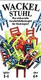 Wackelstuhl - Wackel Stuhl - Spiel Gesellschaftsspiel - das risikoreiche Geschicklichkeitsspiel für Hochstapler -