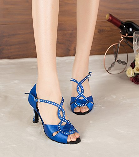 Miyoopark - Ballroom donna Blue-7.5cm heel