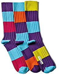 United Oddsocks - 3 Odd Socks Dicker Strick für Männer - Rocky
