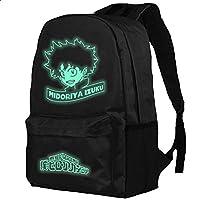 BIRDEU Men Rucksack Izuku Cosplay Backpack Oxford Cloth Shoulder Bag Anime Costume Accessories for Adult Teen