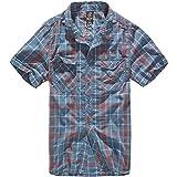 Brandit Herren Roadstar Hemd Rot / Blau Größe 5XL