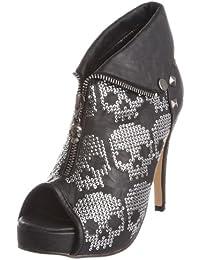 Iron Fist Wolfbeater Platform - zapatos de tacón de poliuretano mujer, color negro, talla 42.5 (9 UK)