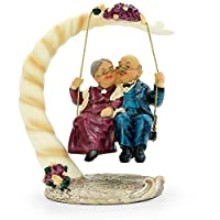 Aoneky Wedding Anniversary Gifts for Couple - Engagement Figurine Present - Parents and Grandparents Home, Car Decorations, Novelty Ornaments.