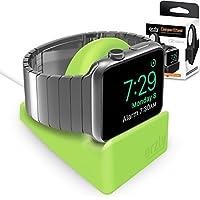 Orzly® Night-Stand for Apple Watch - VERDE Supporto con Scanalatura per nascondere il vostro cavo di carico (Grommet caricatore e cavo non incluso)