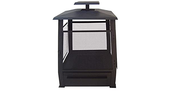 FF122 Esschert Terrassenofen Pagode mit Gitter