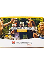 Idea Regalo - Musement Giftbox - LE STRADE DEL VINO (Premium) - Cofanetto regalo