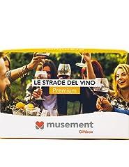 Idea Regalo - Musement Giftbox - LE STRADE DEL VINO (Premium) - Cofanetto regalo