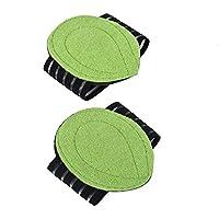 dingchen Foot Care Gepolsterte Arch unterstützt Foot Massage umfassende Plantarfasziitis grün (2Stück) preisvergleich bei billige-tabletten.eu