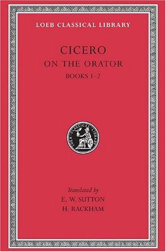 De Oratore: v. 1 (Loeb Classical Library) por Marcus Tullius Cicero