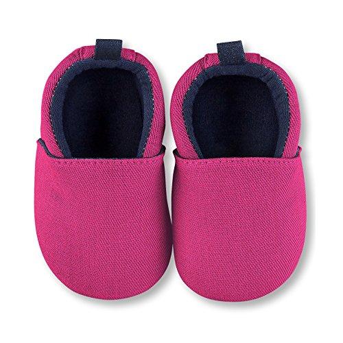 Sterntaler Baby Mädchen Krabbel-& Hausschuhe, Pink (Magenta 745), 20 EU