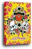 Ed Hardy Poster als Blockbild - In Memory Of Love I (91 x 61cm)