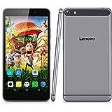 "Lenovo PHAB Plus 4G Lte - Tablet PC Smartphone Libre Android 5.0 (6.8"" IPS FHD, Octa Core, Dual Sim, 2Gb Ram 32Gb Rom, 13Mp Camara, WIFI GPS Bluetooth FM, Multi-Idioma), Gris"