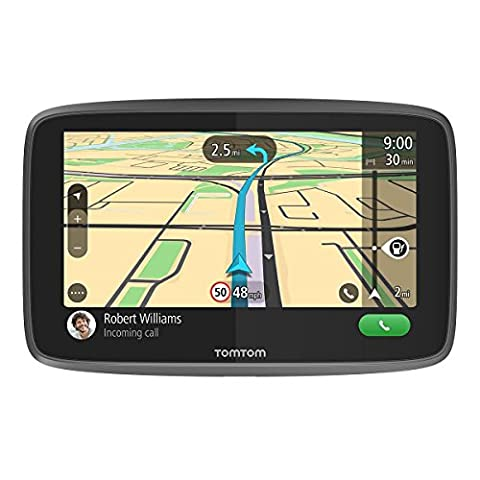 TomTom Go Professional 620 GPS Truck Sat Nav with Full European Lifetime Maps and Traffic Services (via Smartphone) Designed for Truck, Coach, Bus, Caravan, Motor-homes and Other Large Vehicles
