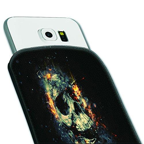 Sleeve Style Handy Tasche Case Schutz Hülle Schale Motiv Etui für Apple iPhone 6 / 6S - Sleeve UBS13 Design9 Design 11