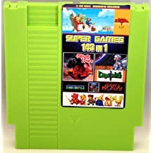 143 in 1 NES Cartridge with Battery for Saving Games - Zelda, Super Mario Bros 1 2 3, Contra, Tecmo Super Bowl, Final Fantasy 1 2 3, Mega Man