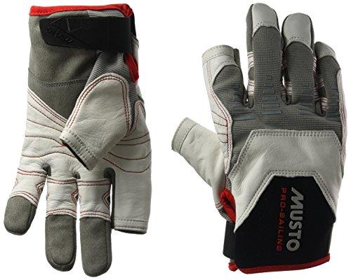 2017 Musto Evolution Sailing Long Finger Glove WHITE
