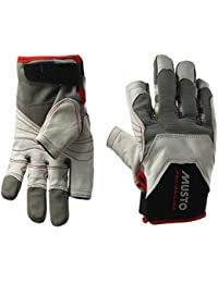 2017 Musto Evolution Sailing Long Finger Glove WHITE AE1080