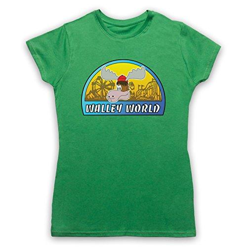 Inspiriert durch National Lampoon's Vacation Walley World Unofficial Damen T-Shirt Grun