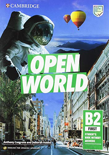 Open World First Student's Book without Answers English for Spanish Speakers