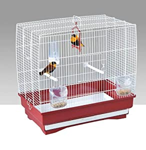 Home Sweet Home Irene 3 Bird Cage, White from SHAZO