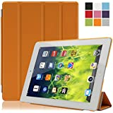 Besmall Funda Carcasa Proteccion Smart Cover per Apple iPad 2/3/4 A1395 A1397 A1396 A1416 A1430 A1403 A1458 A1459 A1460