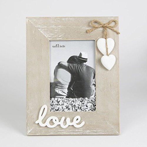 Marco madera foto granja Permanente 'Love'