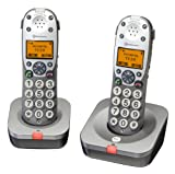 Amplicomms Powertel 702 Big Button Twin Cordless...