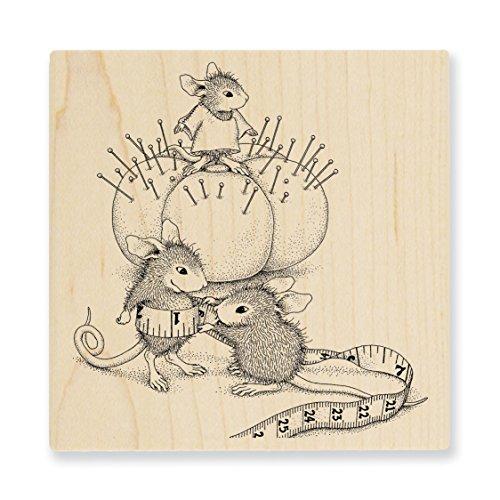 Stampendous hmq20Haus Maus Holz Stempel, Tiny Tailor -