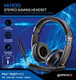 Gioteck - XH-100 Gaming Stereo Headset, Color Azul (PS4)