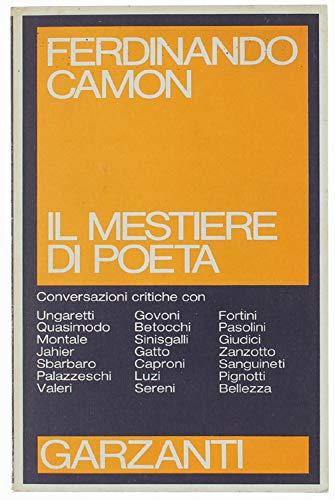 Il mestiere di poeta